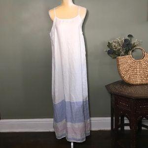 NWT 100% Linen C&C California Maxi Dress